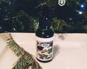 Arctic Frost All Natural Beard Oil: Vanilla, Fir, Pine, Peppermint