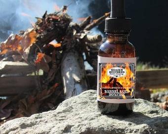 All Natural Beard Oil-Barrel Aged Bonfire