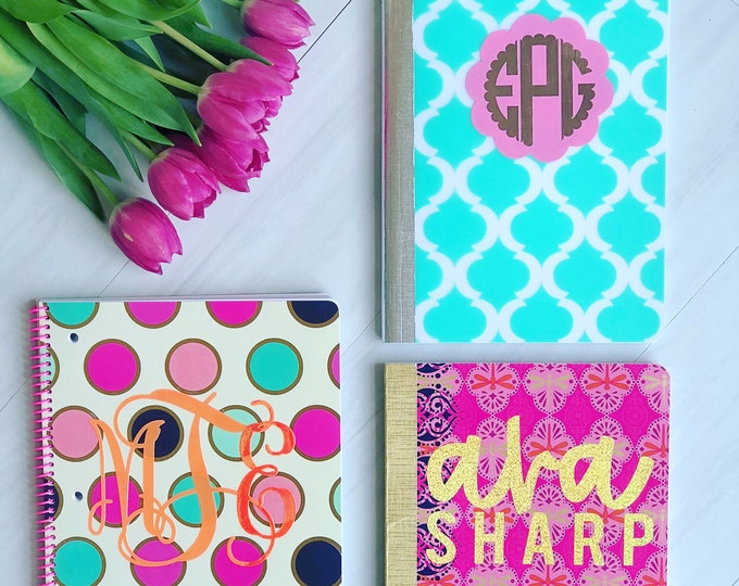 Monogrammed Composition Notebook