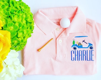 Boy Monogrammed Polo, Boy Dress Shirt, Boy Personalized Polo, Boy button down, Boy dress shirt, Boy Monogrammed shirt