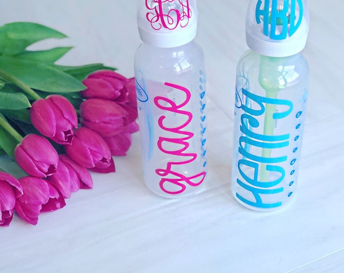 Baby Bottle Decal
