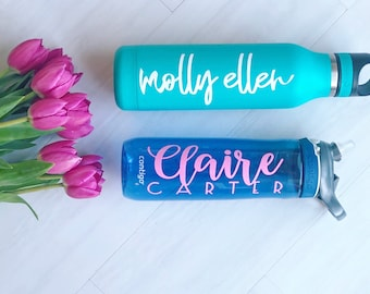 Water Bottle Monogram
