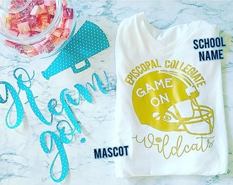 Spirit Shirt customized for your team and/or school
