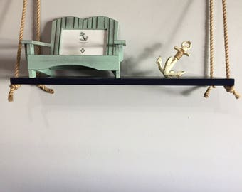 Nautical Rope Shelf