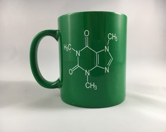 11oz. Caffeine  Mug