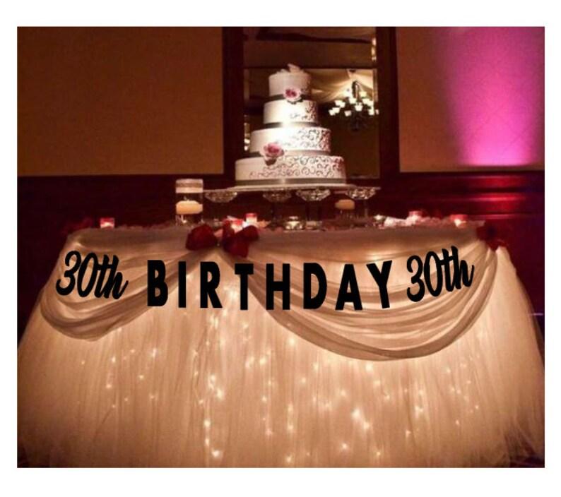 30 Compleanno 30 Compleanno Arredamento 30 Compleanno Etsy