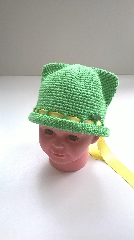 7597827419a0ba Crochet hatsummer cotton hats baby hatswomen hatshat with | Etsy