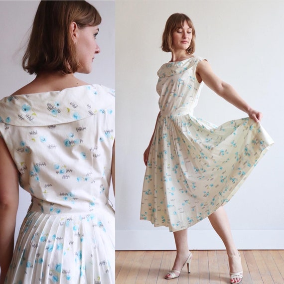 Vintage | XS | 1950's Alex Coleman sun dress | nov