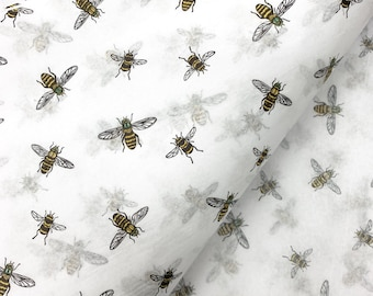 Bumble Bee Gift Wrap Tissue Paper-10 Large Printed Patterned Sheets