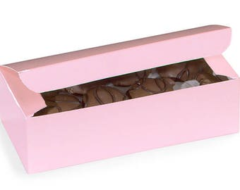 Pink  Candy Box, Pink  1 lb candy box, wedding, gift wrap, packaging ,Favors, Decorating