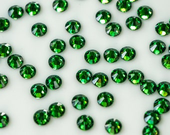 Swarovski Crystals Flat Back 2088 - No Hot Fix - SS16 (3.8 - 4.0 mm) Fern Green, Pack of 50 pcs