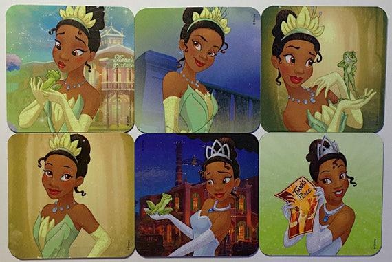 Tiana La Princesse Et La Grenouille Aimants Pour Réfrigérateur Princesse Disney Bonbonnières Aimant De Réfrigérateur 6 Ensemble