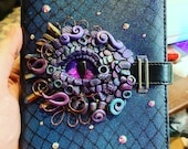Custom dragon eye notebook