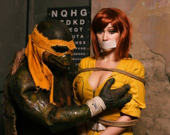 Signed cosplay Print April O'Neil and Mikey (20x30cm)