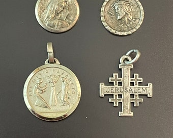 A Rare Find Christian Charms from Jerusalem Test as Sterling each Sold Separately New Photos as of Sept 7