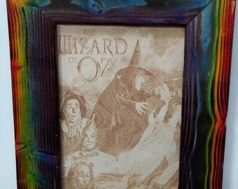 Wizard Of Oz Frame Etsy