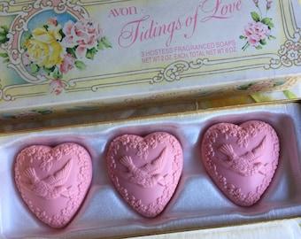 Avon Citrus Soap Scents 3 Soaps Sliced Fruit Shape Vintage Avon For Sale Health & Beauty