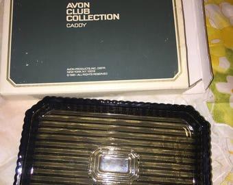 NIB Vintage Avon Club Collection Caddy, 1981