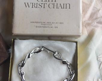 "Sale! NIB Vintage Avon ""Clint"" Wrist Chain, 1976"