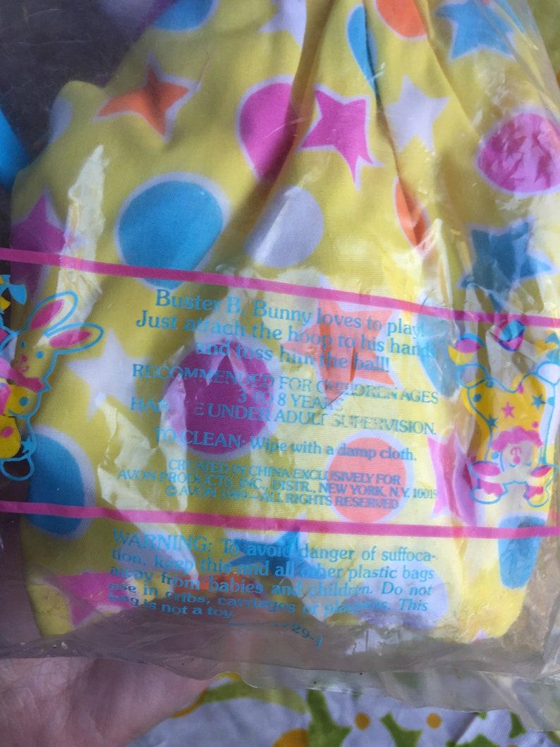 SALE NIP Vintage Avon Buster B Bunny Plush Toy Puppet 1989