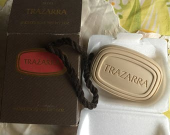 NIB Vintage Avon Trazarra Shower Soap-on-a-Rope
