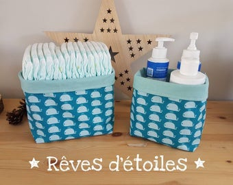 Baskets / storage baskets / Organizer whale