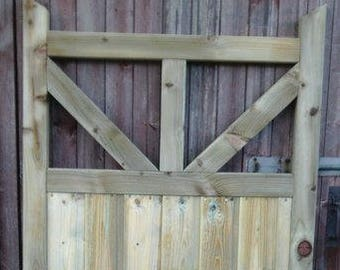 Silkstone design Wooden Framed Ledged and Braced Timber Side Garden Gate Door