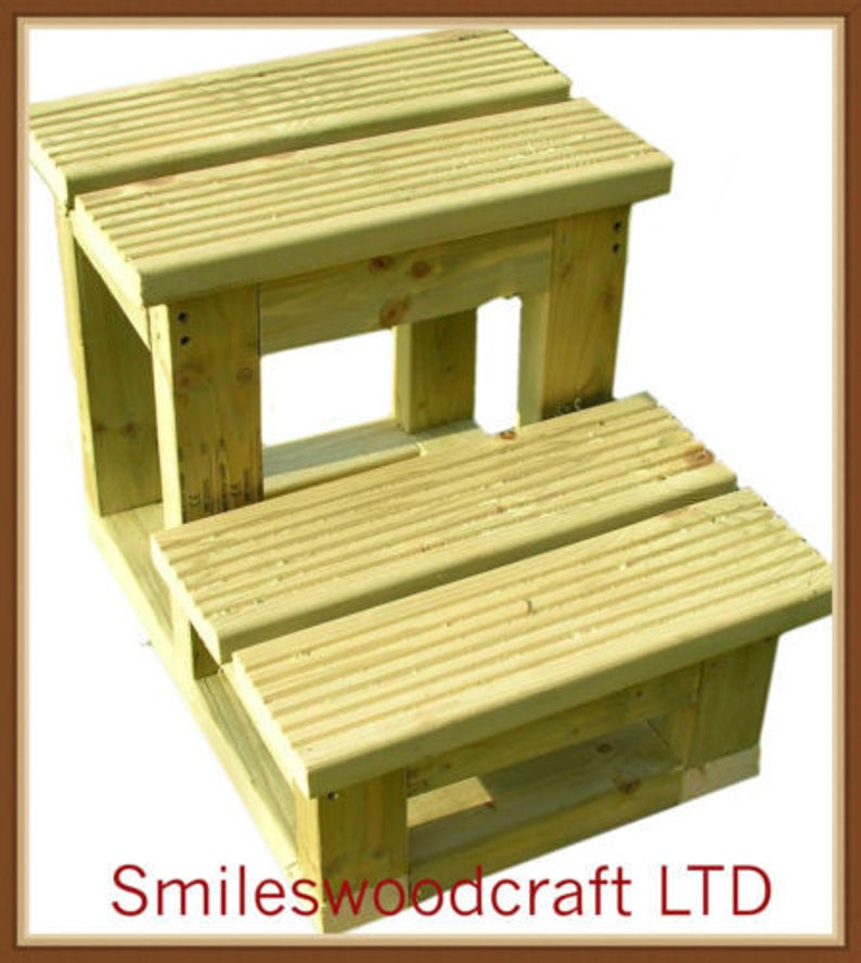 Horse Mounting Block 2 Steps