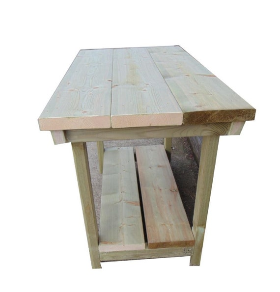 Awesome Wooden Handmade Heavy Duty Work Bench Table Pdpeps Interior Chair Design Pdpepsorg