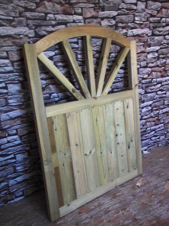 Sunshine Style 4FT HIGH Bespoke gate Wooden Garden Gate
