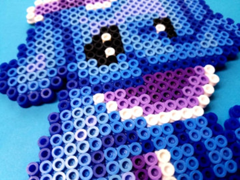 Set of 18 Melting Bead Art Kids Crafts Minecraft Handmade Perler Bead Crafts Super Mario Elephant Spiderman Rabbit Puppy Firetruck