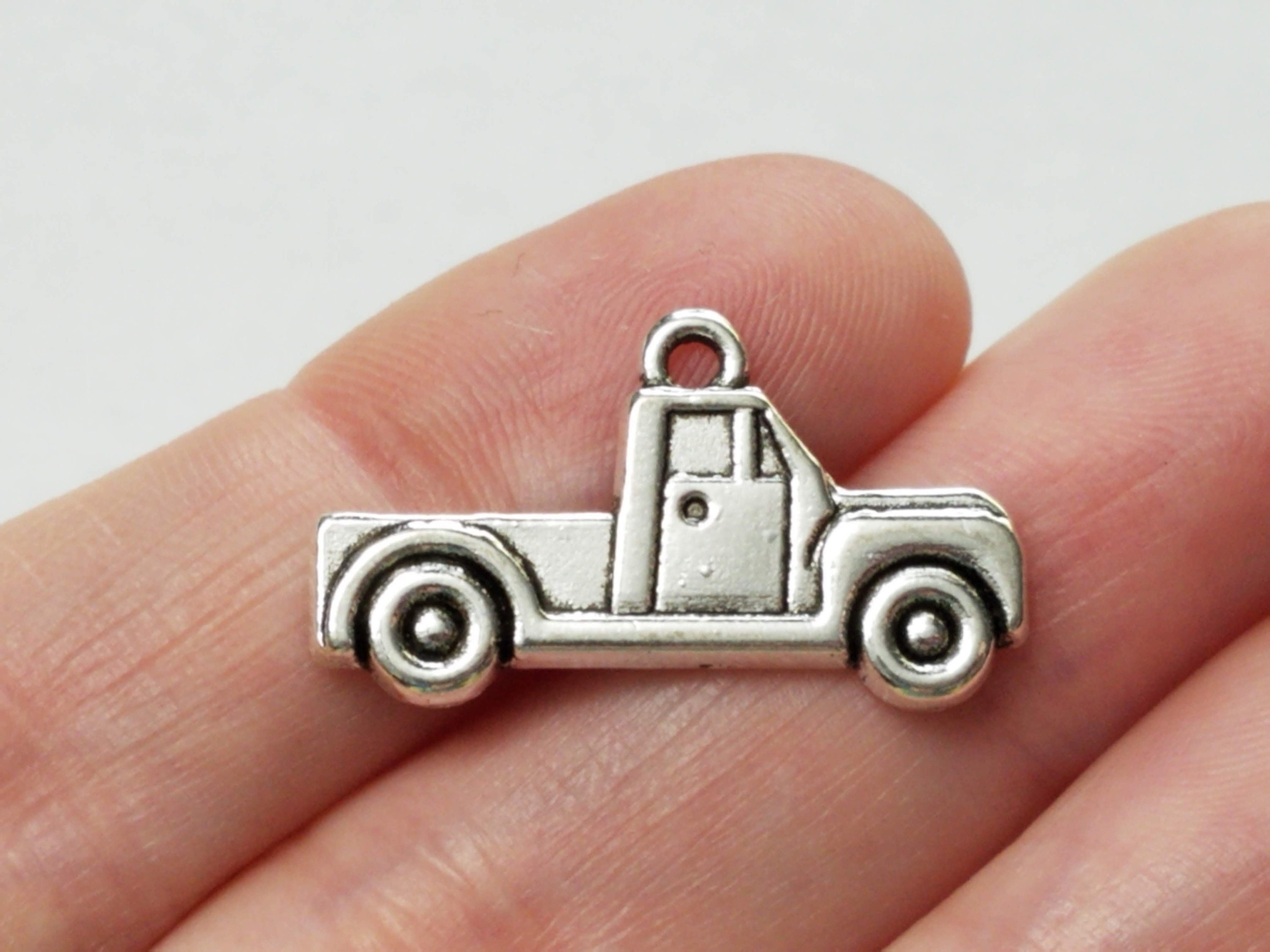 Charms for Bracelets and Necklaces Tow Truck Charm
