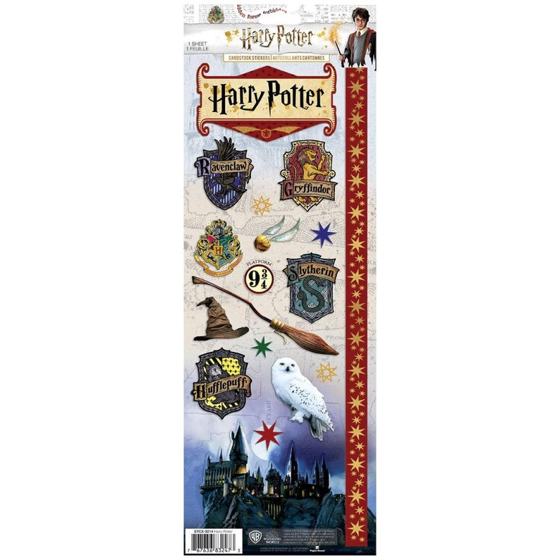 Dream Stickers Harry Potter Movie Stickers Scrapbook Paper Magical Stickers Hufflepuff Stickers 13X4.7 Stickers Wand Stickers