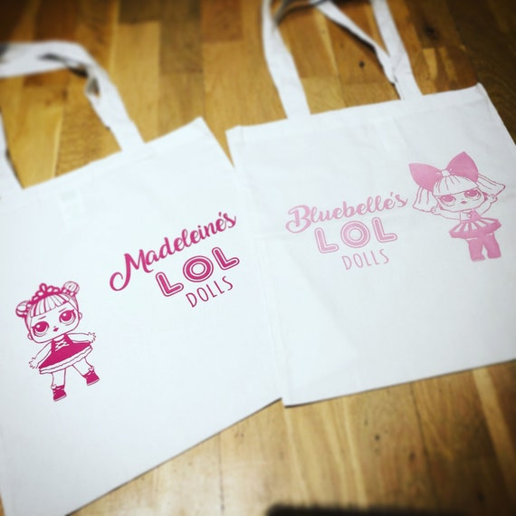 Lol Surprise Doll Tote Bag Personalised Lol Dolls Gift Etsy