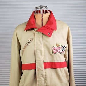 Unaffecting Marks on Front. Rare EXTRA LARGE Women/'s Vintage Apple Logo Jacket Norman Todd Classic