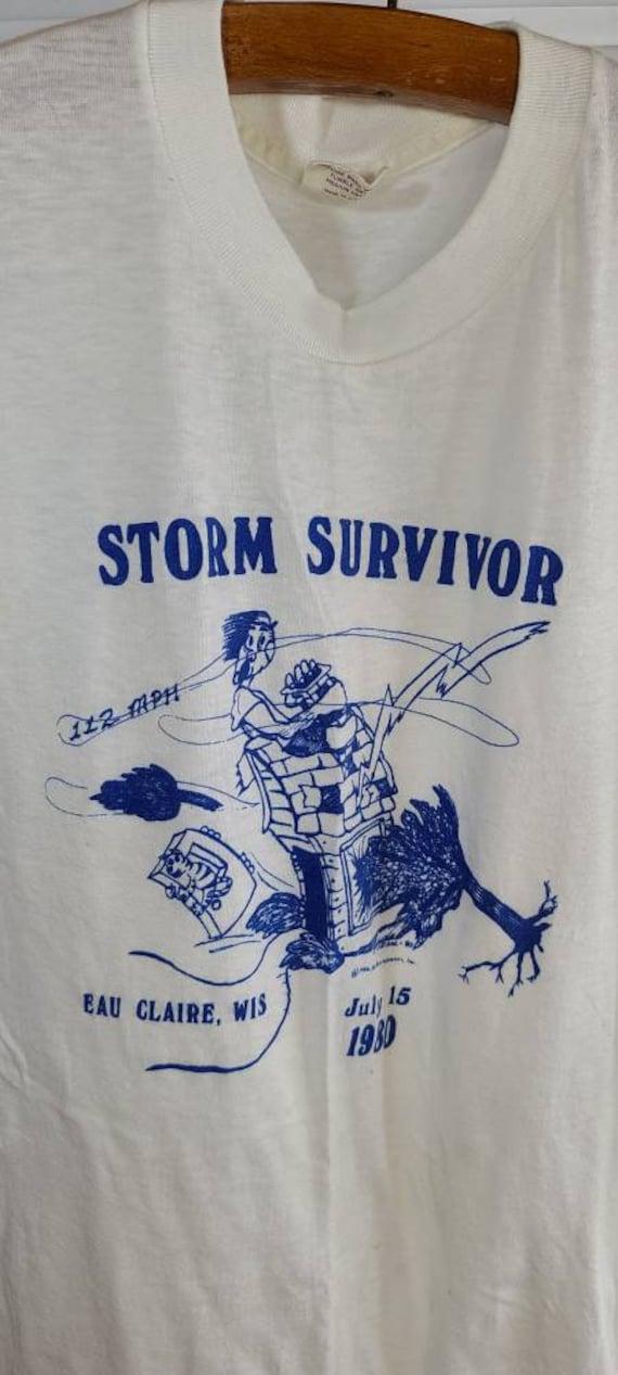 1980 Eau Claire, Wisconsin 'Storm Survivor' Small… - image 1