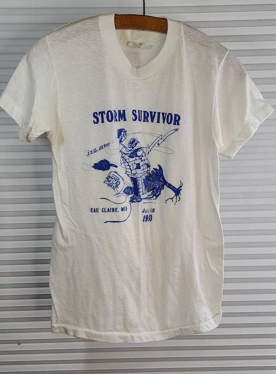 1980 Eau Claire, Wisconsin 'Storm Survivor' Small… - image 5
