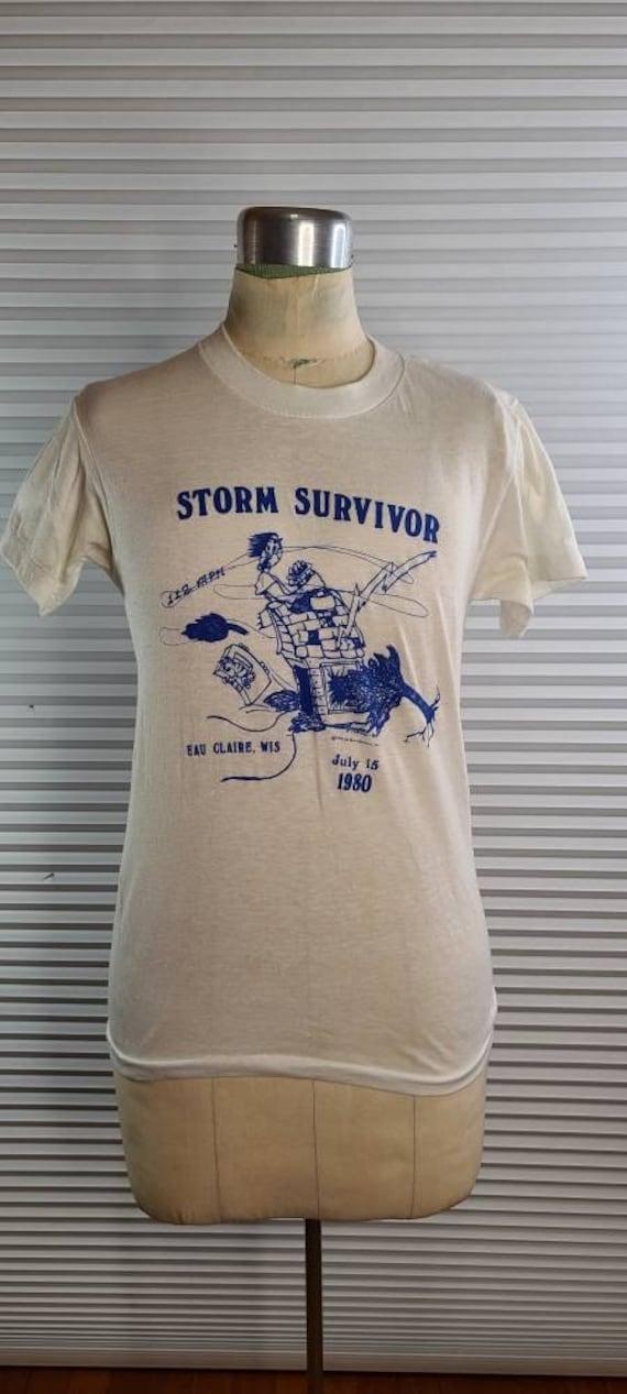 1980 Eau Claire, Wisconsin 'Storm Survivor' Small… - image 2