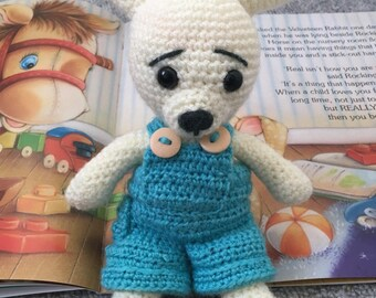 Amigurumi Ce tested Mr Bunny a friendly toy for your baby