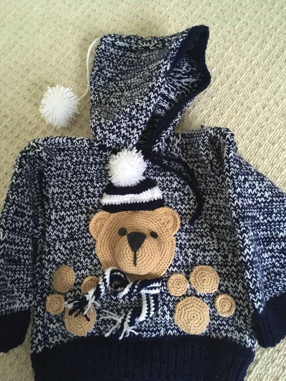 Bébé garçon teddy hiver cavalier