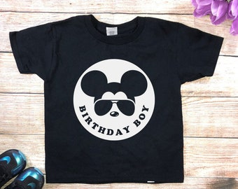 Birthday Boy Mickey Shirts Gift For Disney