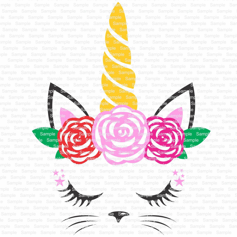 Custom Cat svg Flowers svg Unicorn svg cat unicornCat   Etsy