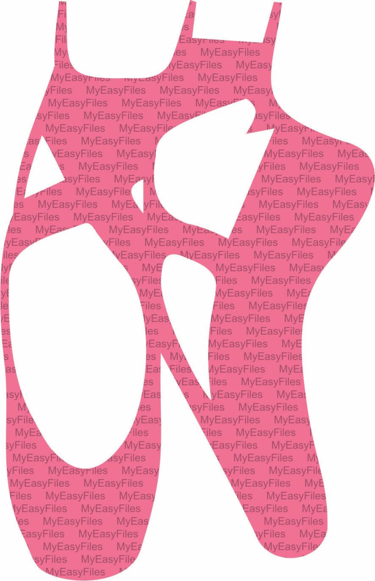 ballet shoes svg, instant download, design for cricut, design to silhouette, ballet svg, shoes svg, ballet dancer svg, dancer sv