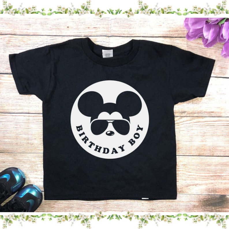 Birthday Boy Mickey Shirts Gift For
