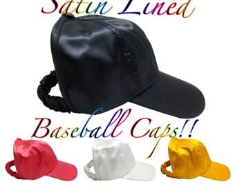 2d7a498bb0f Satin Lined Baseball Cap