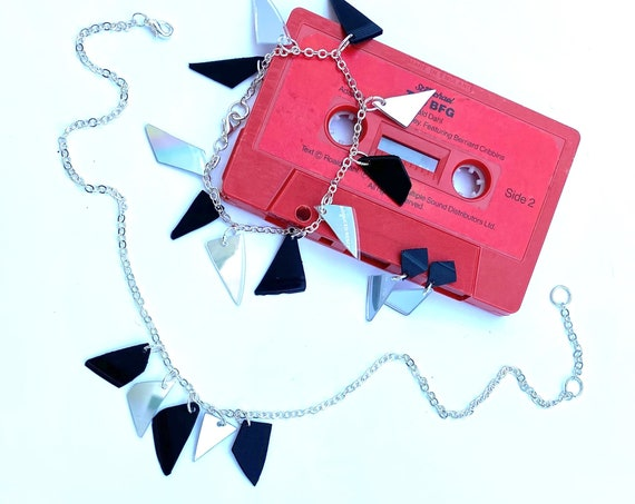 Upcycled CD & Vinyl Bracelet, Necklace and Earrings Set - Nothing New by Ruthie Ru - Refined Collection