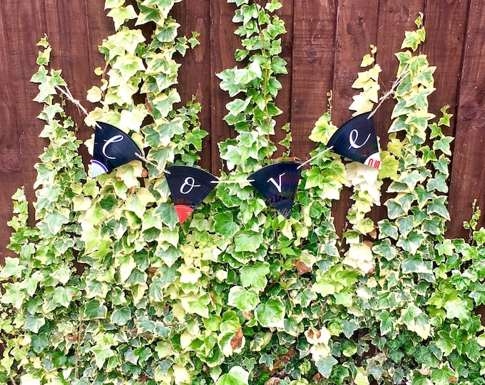 Vinyl Record Bunting - Nothing New by Ruthie Ru