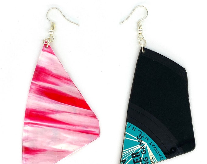 Upcycled Vinyl Record Jewellery
