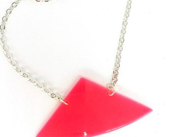 Upcycled Vinyl Record Necklace