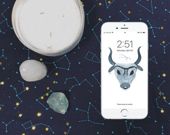 Taurus Wallpaper - ZODIAC SERIES